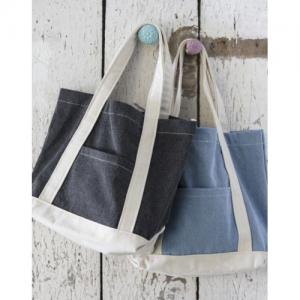 Canvas Denim Shopper
